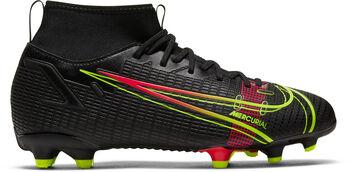 Nike Superfly 8 Academy FG/MG kids voetbalschoenen Zwart