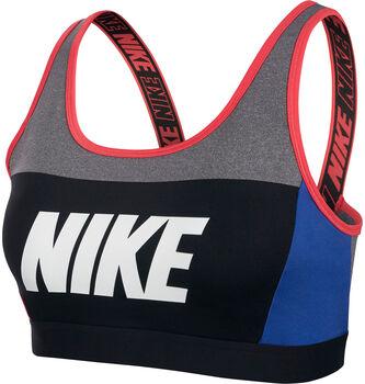 Nike Sport Distort Classic sportbeha Dames Zwart