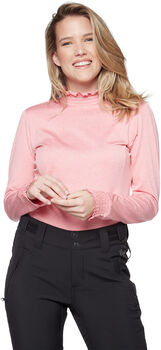 Protest Zoom Powerstretch pully Dames Roze