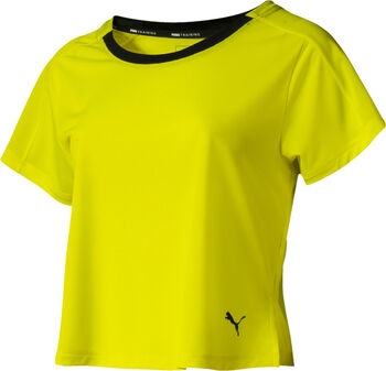 Puma Logo Graphic shirt Dames Geel