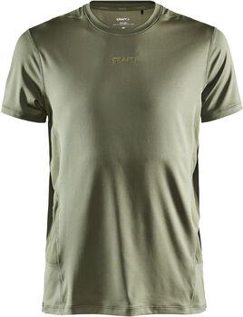 Craft ADV Essence SS Tee M shirt Heren Groen