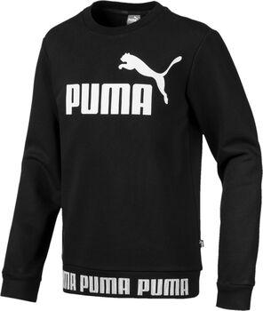 ec0b1474e69c Puma Amplified Crew sweater Zwart