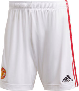 adidas Manchester United thuisshort 2020/2021 Heren Wit
