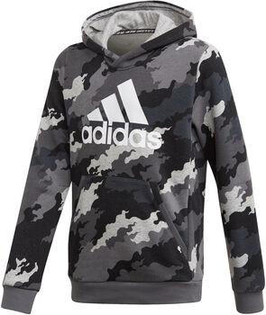 adidas Must Haves Badge of Sport Fleece kids sweater Grijs