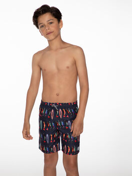 Protest Steve kids zwemshort Jongens Grijs