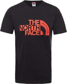 The North Face Extent P8 Logo shirt Heren Zwart