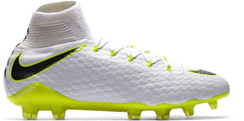 Nike Phantom 3 Pro Dynamic Fit FG voetbalschoenen Heren Wit
