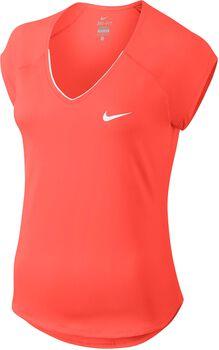 Nike Pure Tennis shirt Dames Oranje