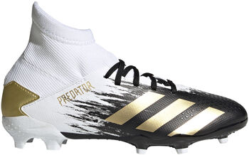 adidas Predator Mutator 20.3 Firm Ground voetbalschoenen kids Wit