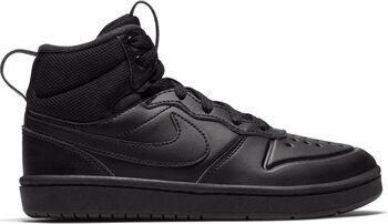 Nike Court Borough Mid 2 sneakers Jongens Zwart