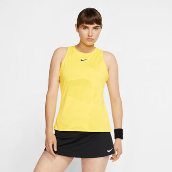 Nike Court top Dames Geel