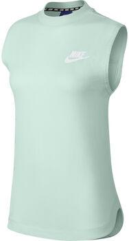 Nike Sportswear Advance 15 top Dames Groen