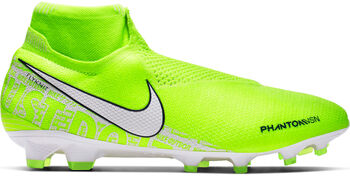 Nike Phantom Vision Elite Dynamic Fit FG voetbalschoenen Heren Geel
