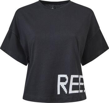 Reebok Gymana Loose shirt Dames Zwart