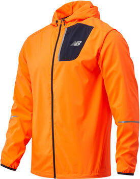 New Balance Core Run jack Heren Oranje