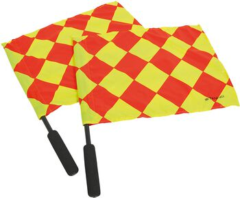 Stanno Linesman Flags 2 Pcs Paars
