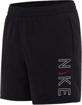 Nike 4-Inch zwemshort Heren Zwart