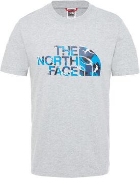 The North Face Extent II Logo shirt Heren Grijs