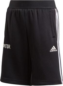 ADIDAS Predator 3-Stripes short Zwart