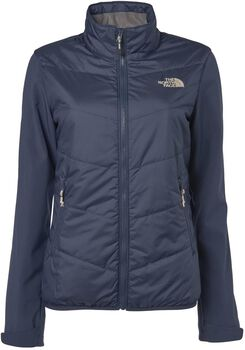 The North Face Arashi Hybrid softshell Dames Blauw