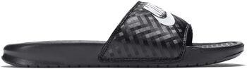 Nike Benassi JDI slippers Dames Zwart