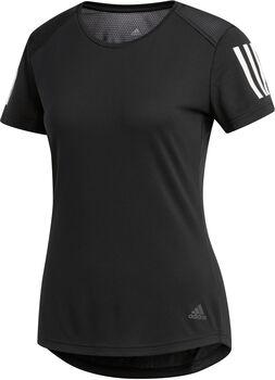 ADIDAS Own The Run shirt Dames Zwart