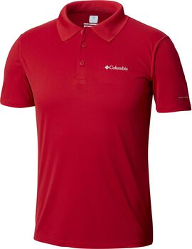 Columbia Zero Rules polo Heren Rood