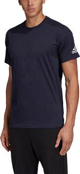 ADIDAS Plain shirt Heren Blauw