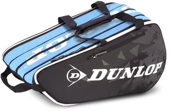 Dunlop Tour 2.0 6-pack squashtas Zwart