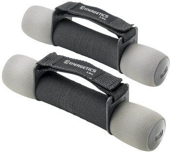 ENERGETICS Foam dumbbells Zwart