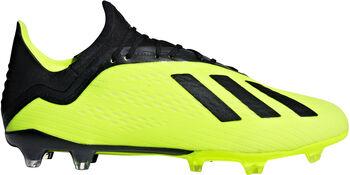 ADIDAS X 18.2 FG voetbalschoenen Geel