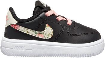 Nike Air Force 1 '18 VF kids sneakers Zwart