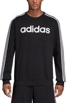 adidas Essentials 3-Stripes Sweatshirt Heren Zwart
