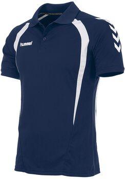 Hummel Team Polo Heren Blauw