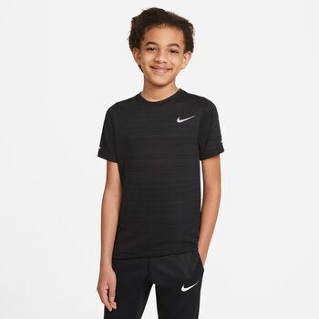 Nike Dri-FIT Miler kids shirt Zwart