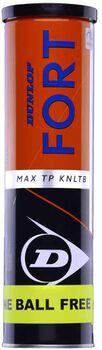 Dunlop Fort Max 3+1 Tin tennisballen Geel