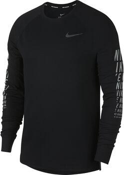 Nike Miler Waffle longsleeve Heren Zwart