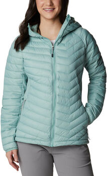 Columbia Powder Pass Hooded jack Dames Blauw