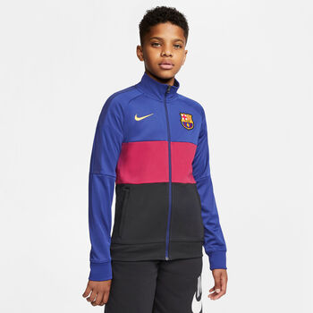 Nike FC Barcelona I96 Anthem jack kids Blauw