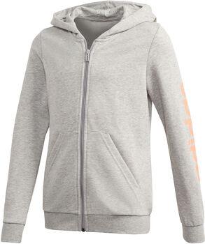 adidas Linear Full Zip vest kids Meisjes Grijs
