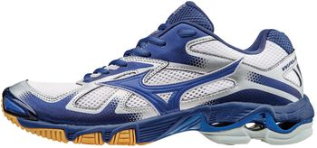Mizuno Wave Bolt 5 indoorschoenen Heren Wit