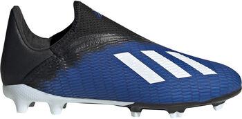 adidas X19.3 LL FG kids voetbalschoenen Blauw