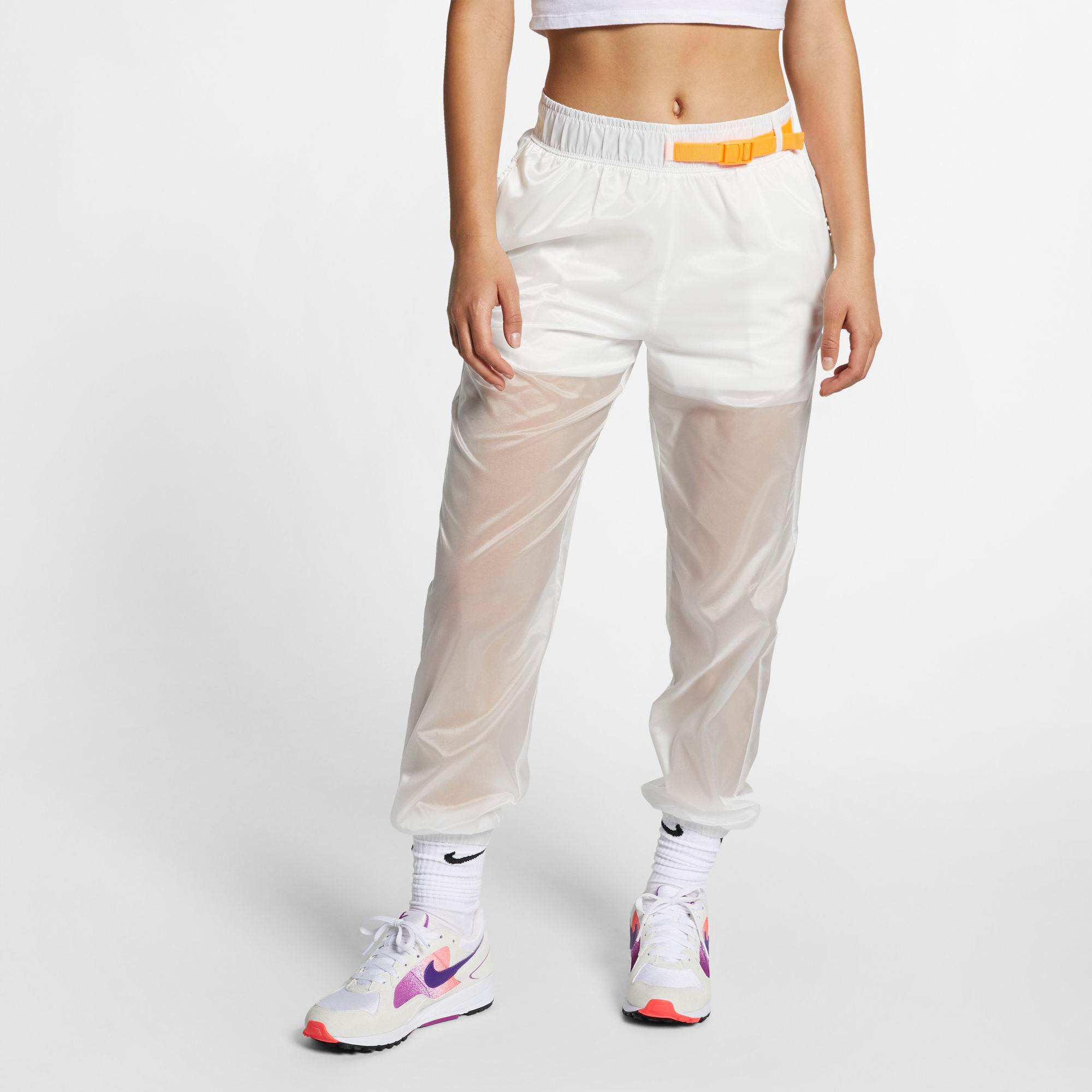 Nike Sportswear Tech Pack broek Dames Wit » Intersport.nl