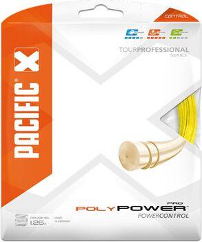 Pacific Poly Power Pro 12.20 M 1.25mm tennissnaar Geel