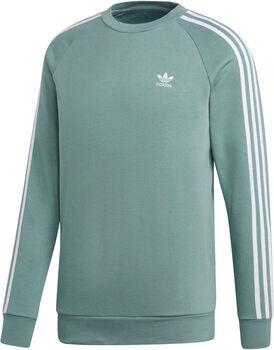 ADIDAS 3-Stripes Crew sweater Heren Zwart