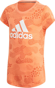 adidas Must Haves Graphic T-shirt Meisjes Oranje