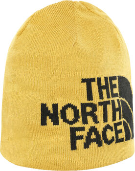 The North Face Highline beanie Geel