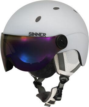 Sinner Titan Visor skihelm Heren Wit