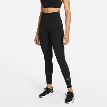 Nike One Icon Clash legging Dames Zwart