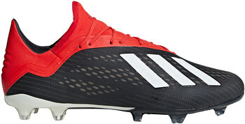 ADIDAS X 18.2 FG voetbalschoenen Heren Zwart